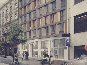 Dorottya utca 8 - utcai homlokzat / Dorottya street 8 - street facade