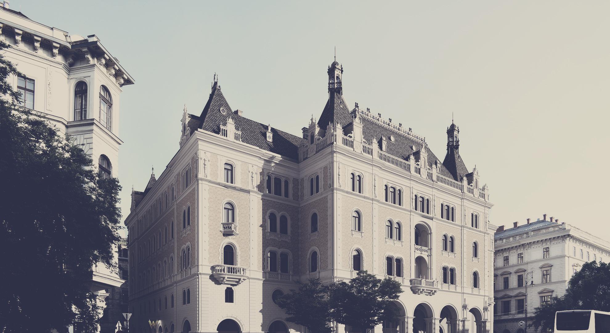 DRECHSLER PALACE – W BUDAPEST